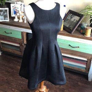 Unique Structured Mini Dress